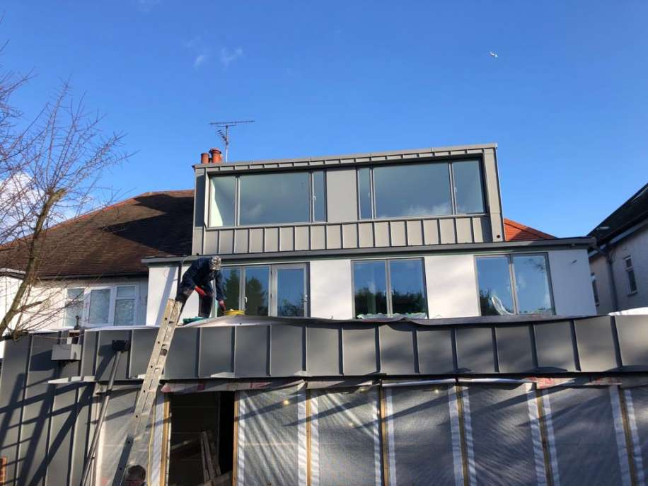 house extend in Finchley